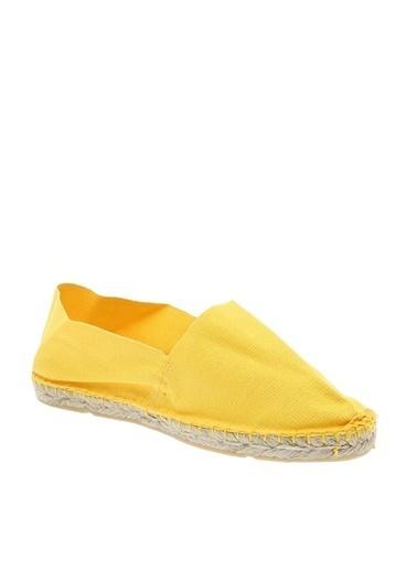 Fresh Company Boyner Fresh Sarı Düz Ayakkabı Sarı
